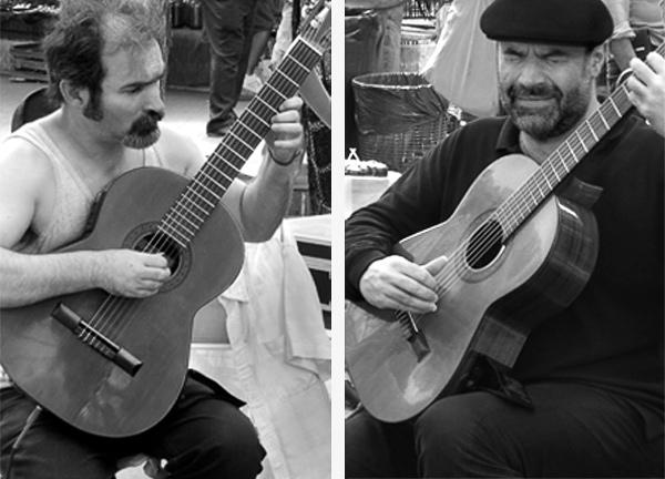 Los guitarristas - Photo © Carl Amoth
