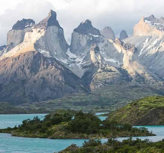 """The Horns"" of Torres del Paine - Photo © Carl Amoth"