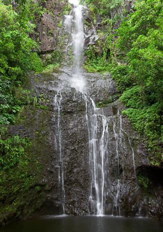 Wailua Fallas - Photo © Carl Amoth