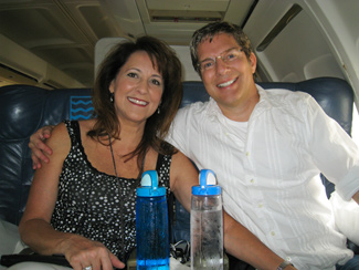 Happily on our way to Cabo