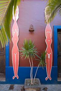 Los Baños at the Hotel California.