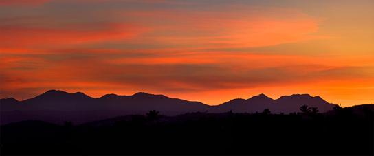 Last rays, Lands End, California Sur Baja, Mexico