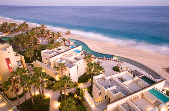 View from our balcony at the Marquis Los Cabos