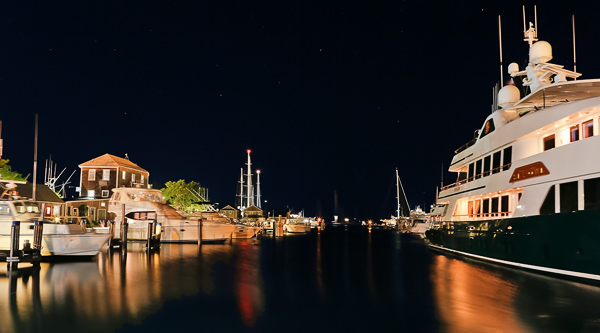 The wharf at Nantucket