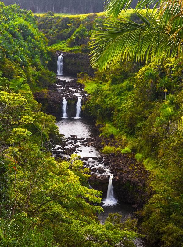 Umauma Falls, Big Island, Hawaii. © Carl Amoth