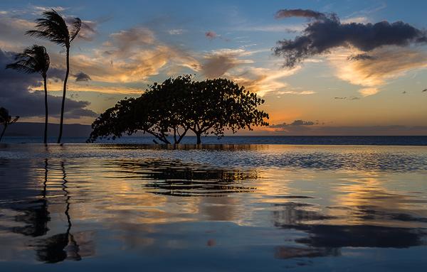 Infinity Pool at Wailea Beach Marriott Resort & Spa. © Carl Amoth